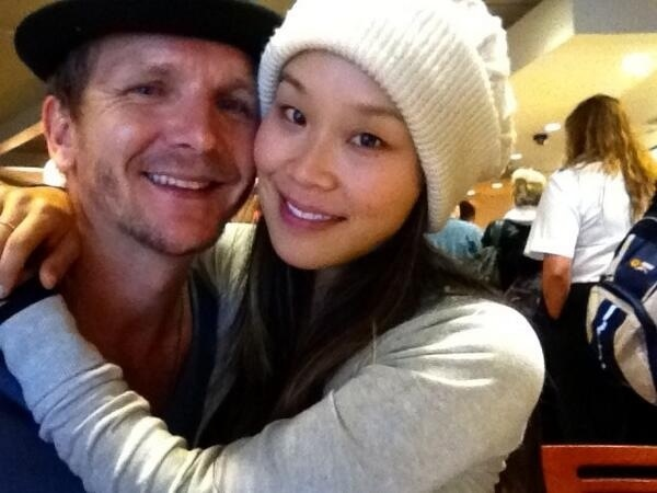 Sebastian Roché with Wife Alicia Hannah